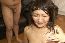 Amateur Asian receives amateur facials